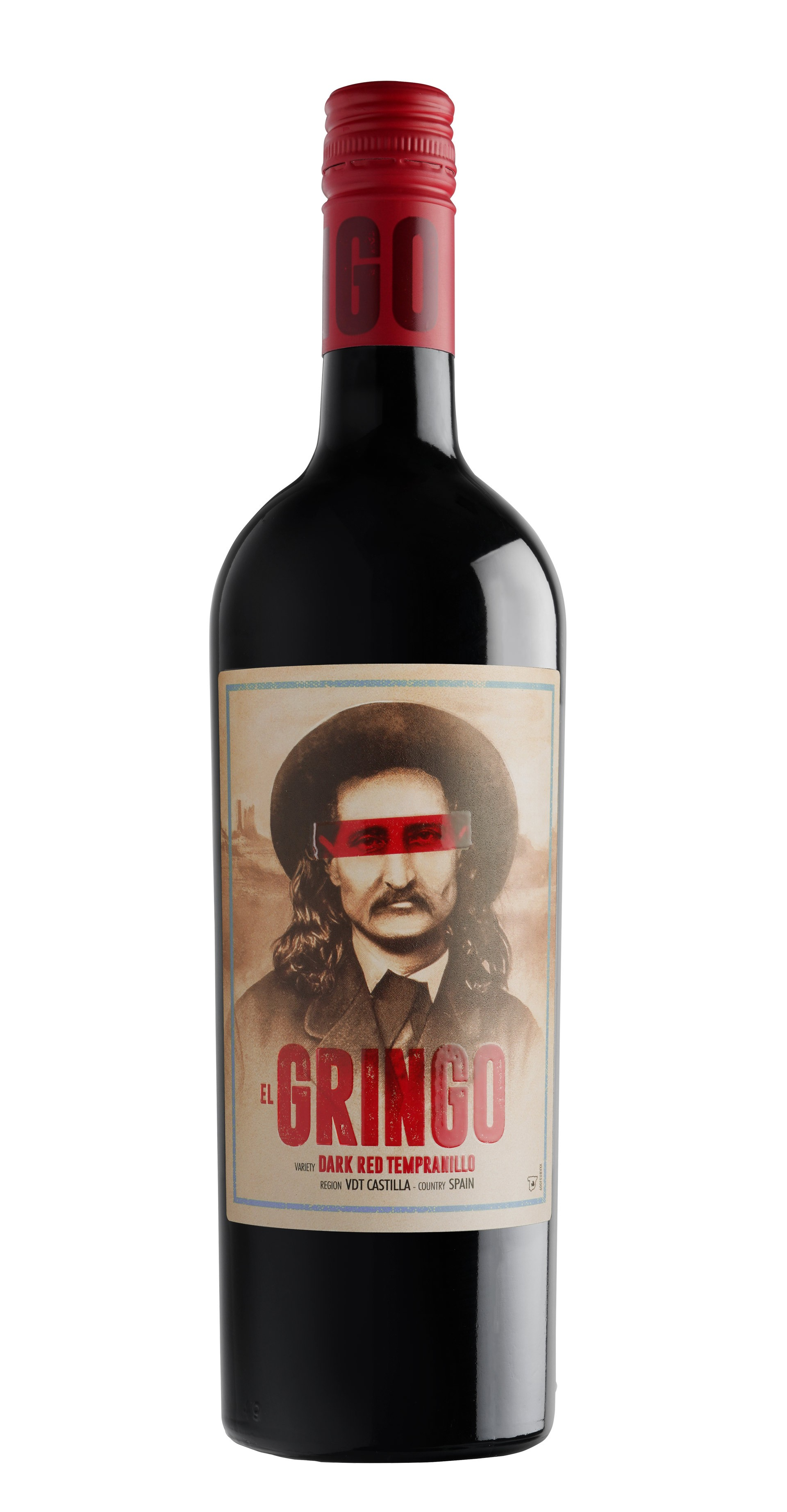 Dark Red Tempranillo