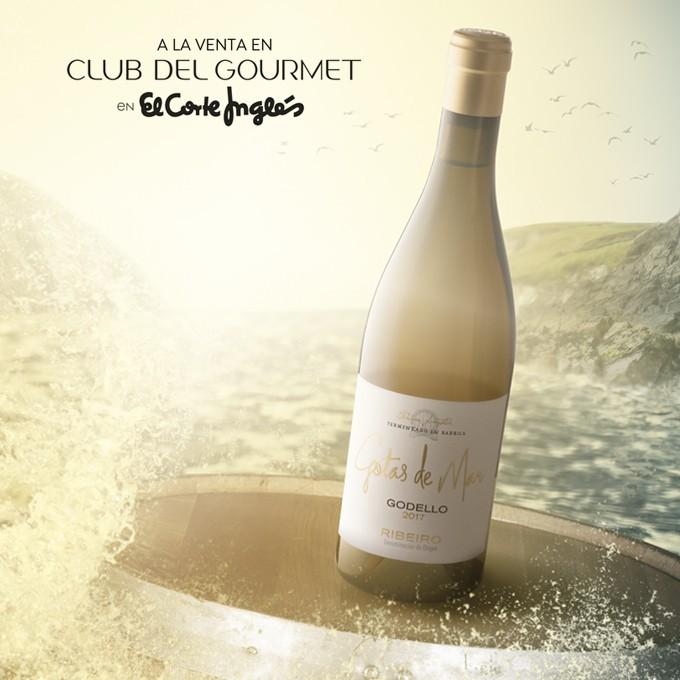 Gotas de Mar available in El Club del Gourmet of El Corte Inglés