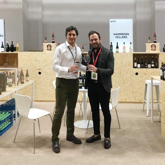 Hammeken Cellars in Barcelona Wine Week