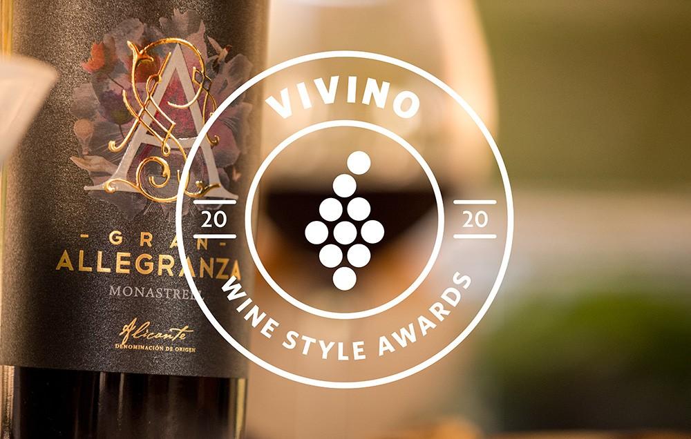 Gran Allegranza again in the top in Vivino Wine Style Awards 2020