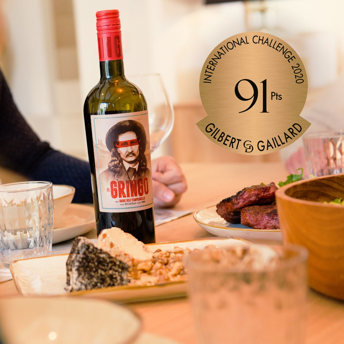 El Gringo, 91 points Gilbert & Gaillard