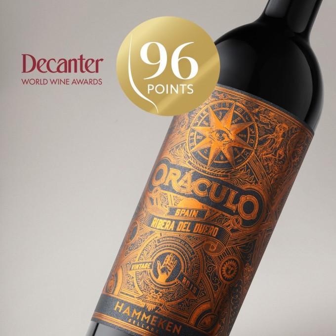 Oráculo Tempranillo DO Ribera del Duero – 96 Puntos en la última edición de Decanter World Wine Awards