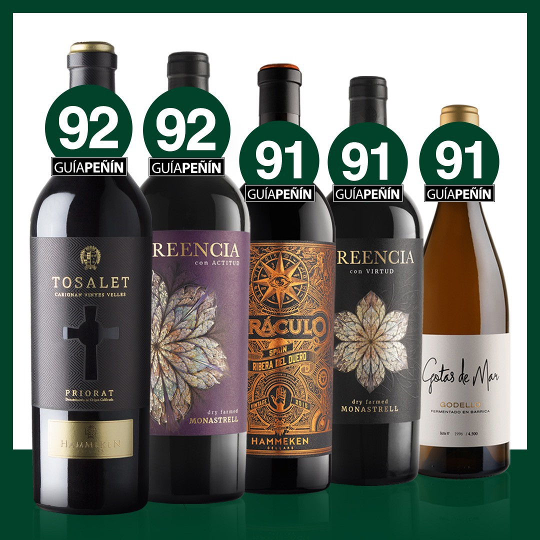 Guía Peñín confirm that the level and quality of our wines remain steady year over year