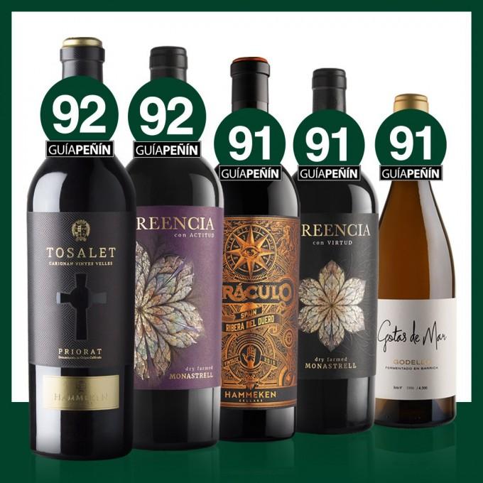 Guía Peñín confirma que el nivel y la calidad de nuestros vinos se mantienen estables año tras año